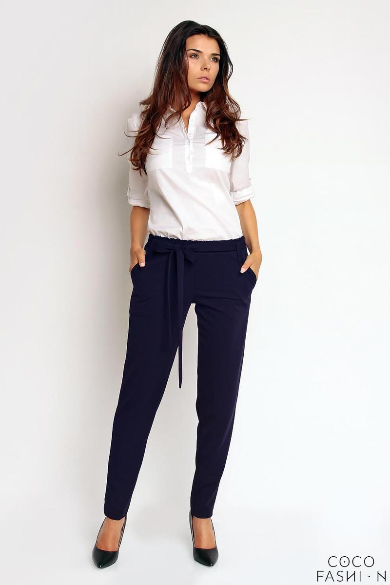 dark-blue-elegant-bussiess-style-belted-pants