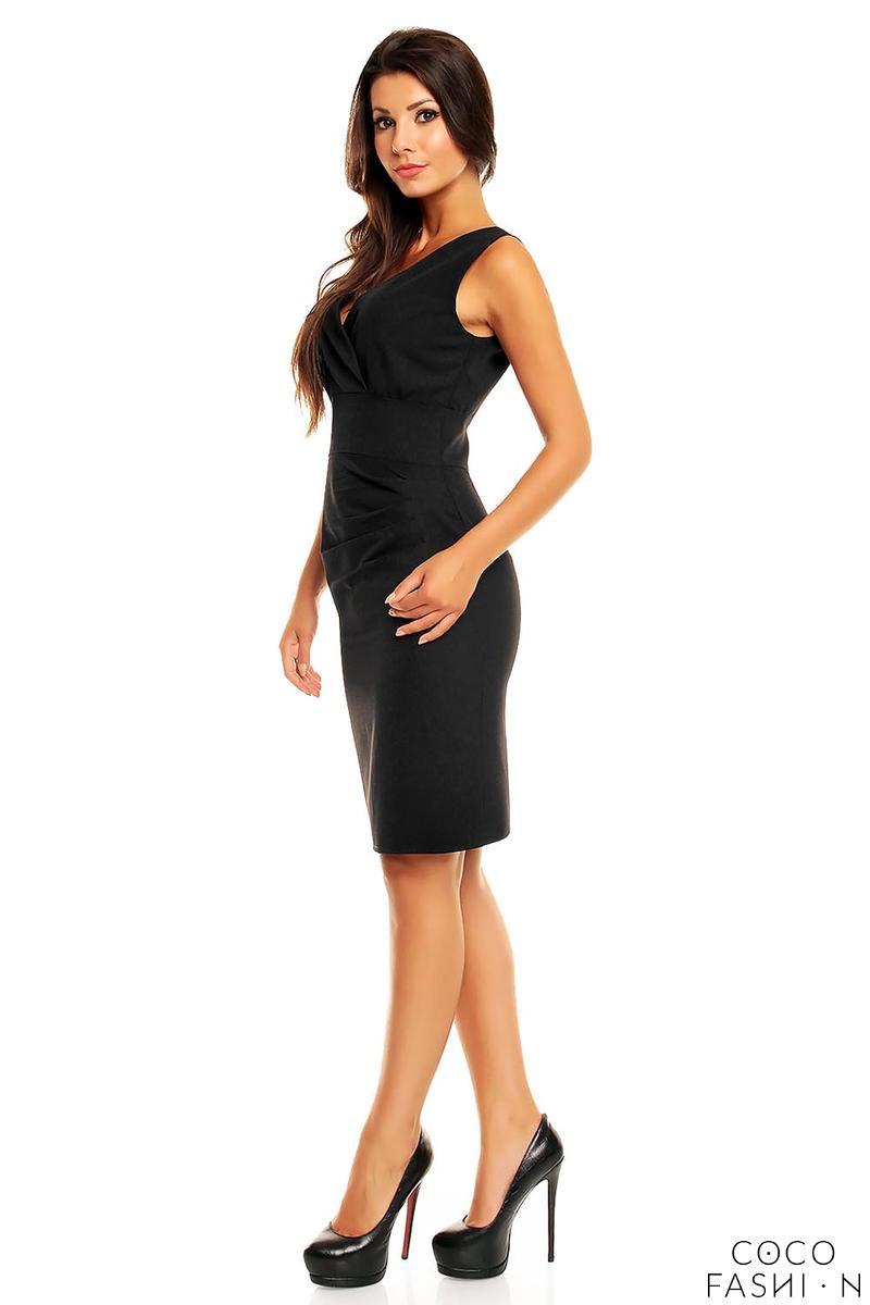 Elegant Short Black Dress