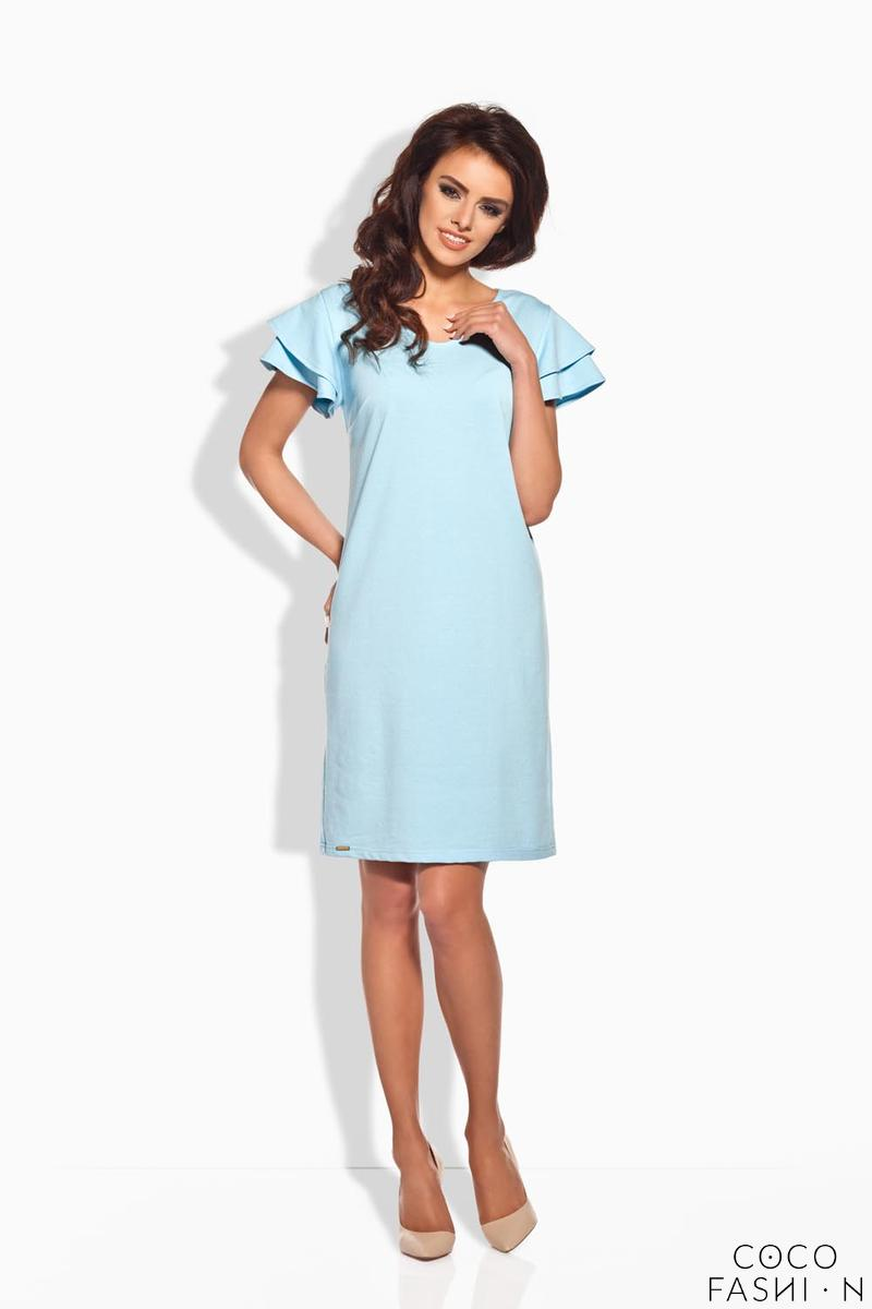 sky-blue-coctail-butterfly-sleeves-dress
