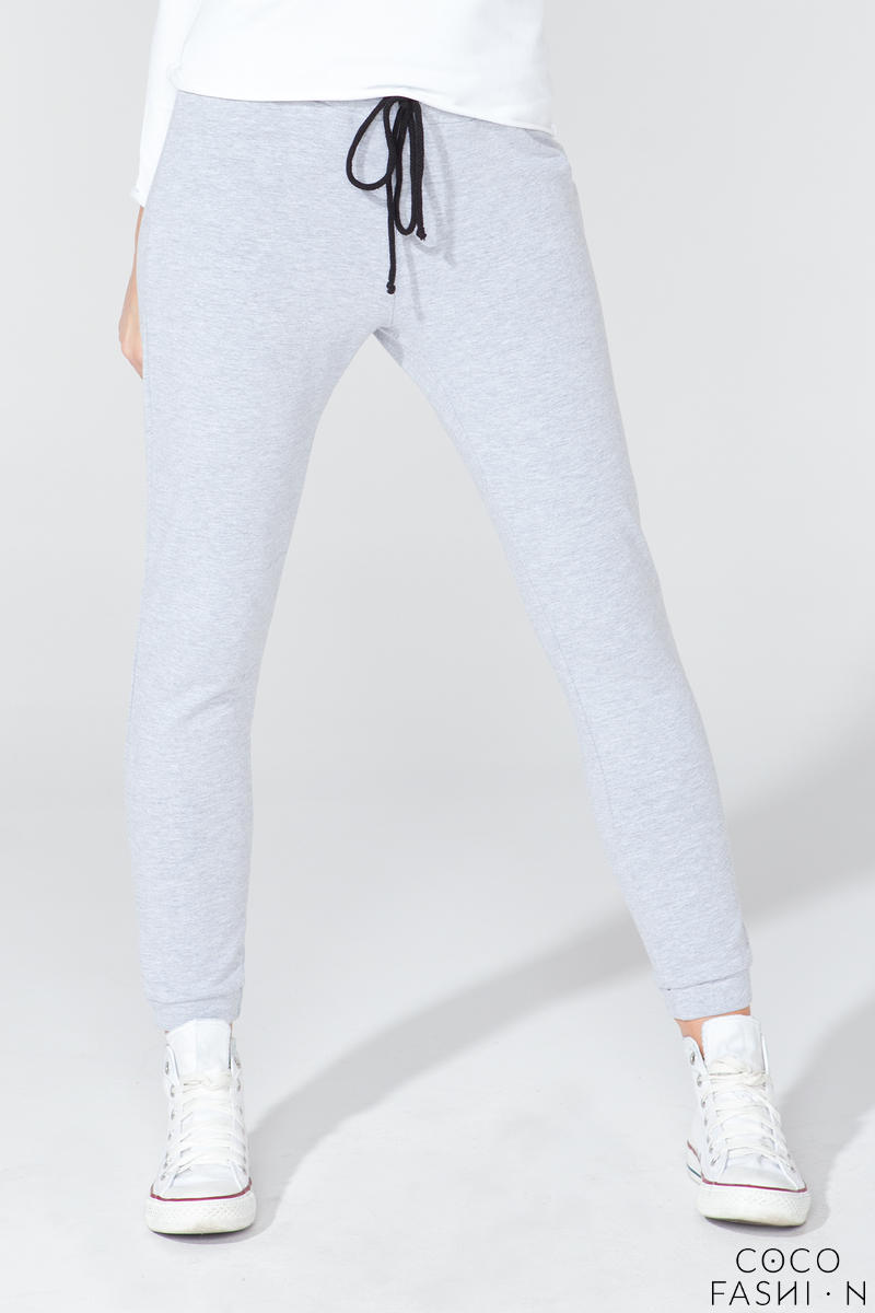 Light Grey Stylish Jogger Pants