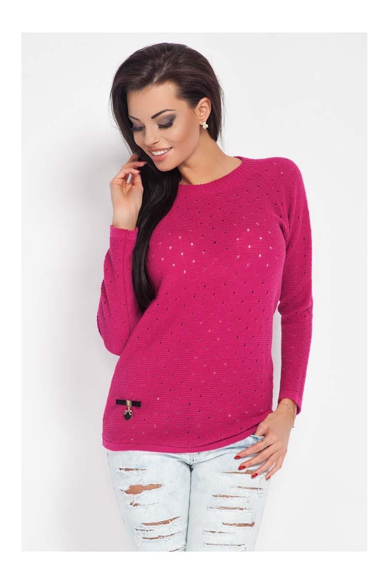 dark-pink-ajure-light-sweater