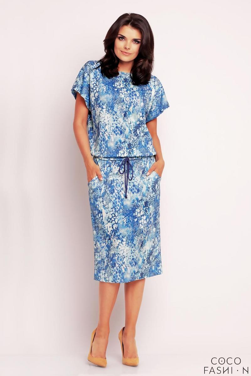 blue-floral-print-midi-dress-with-side-pockets