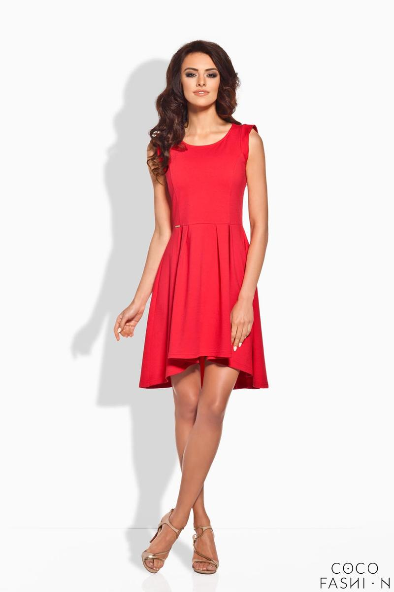 red-dipped-hem-coctail-dress