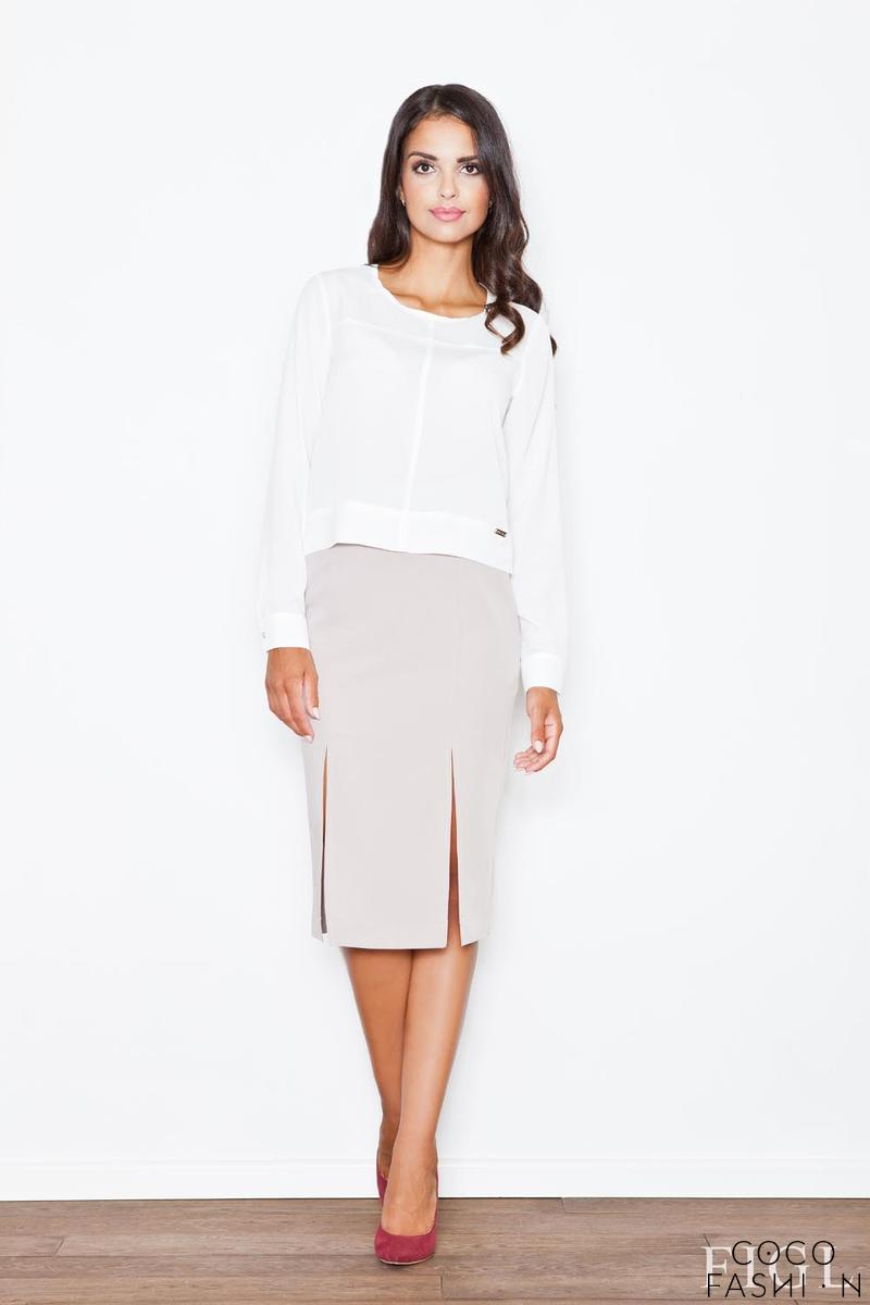 beige-bussiness-style-pencil-skirt