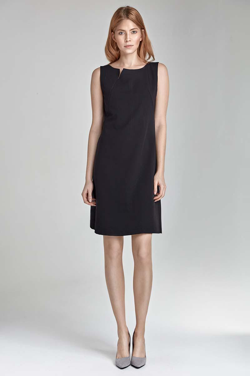 Black Simple Sleeveless Dress