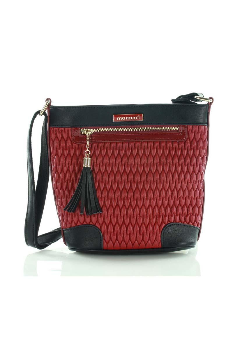 red-padded-design-long-strap-bag