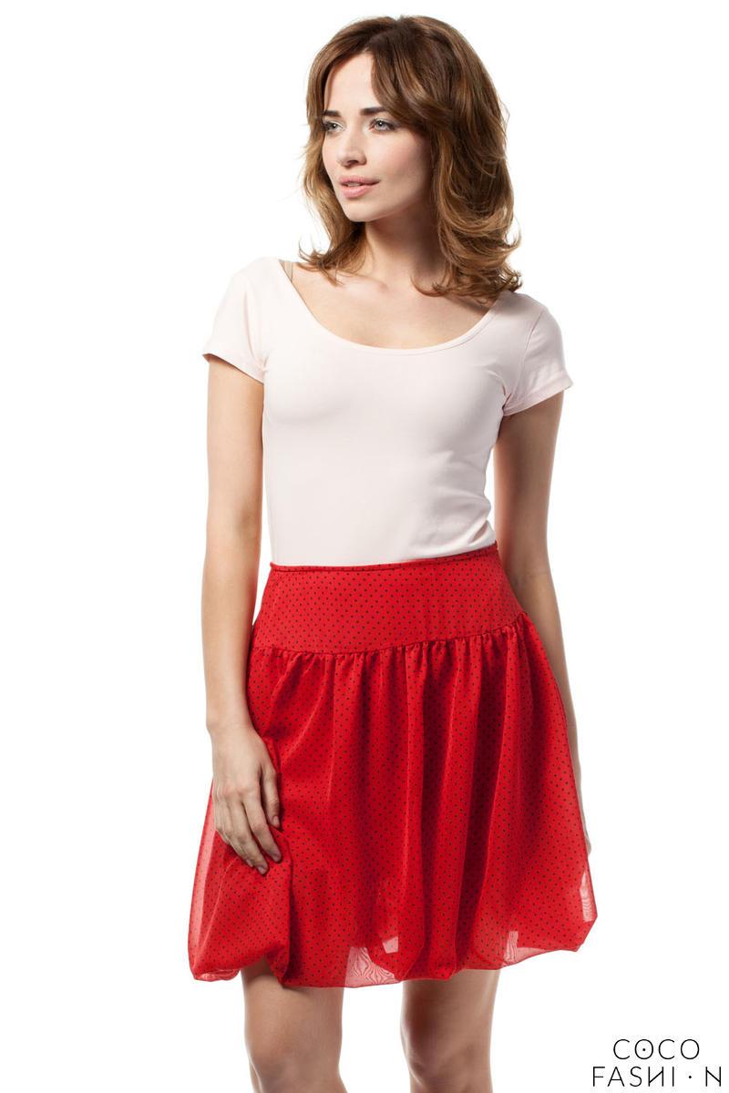 red-polka-dotted-cute-mini-skirt