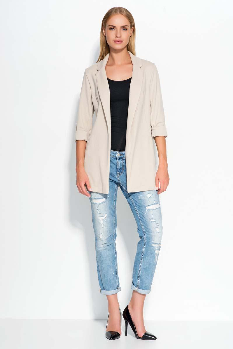 Cream Casual Long Ladies Blazer