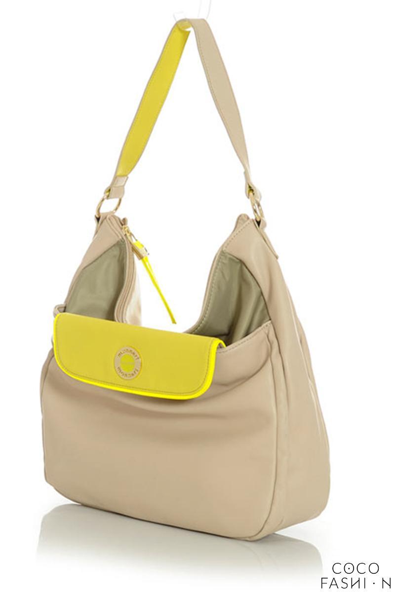 Beige Street Style Comfy Shoulder Bag от cocofashion