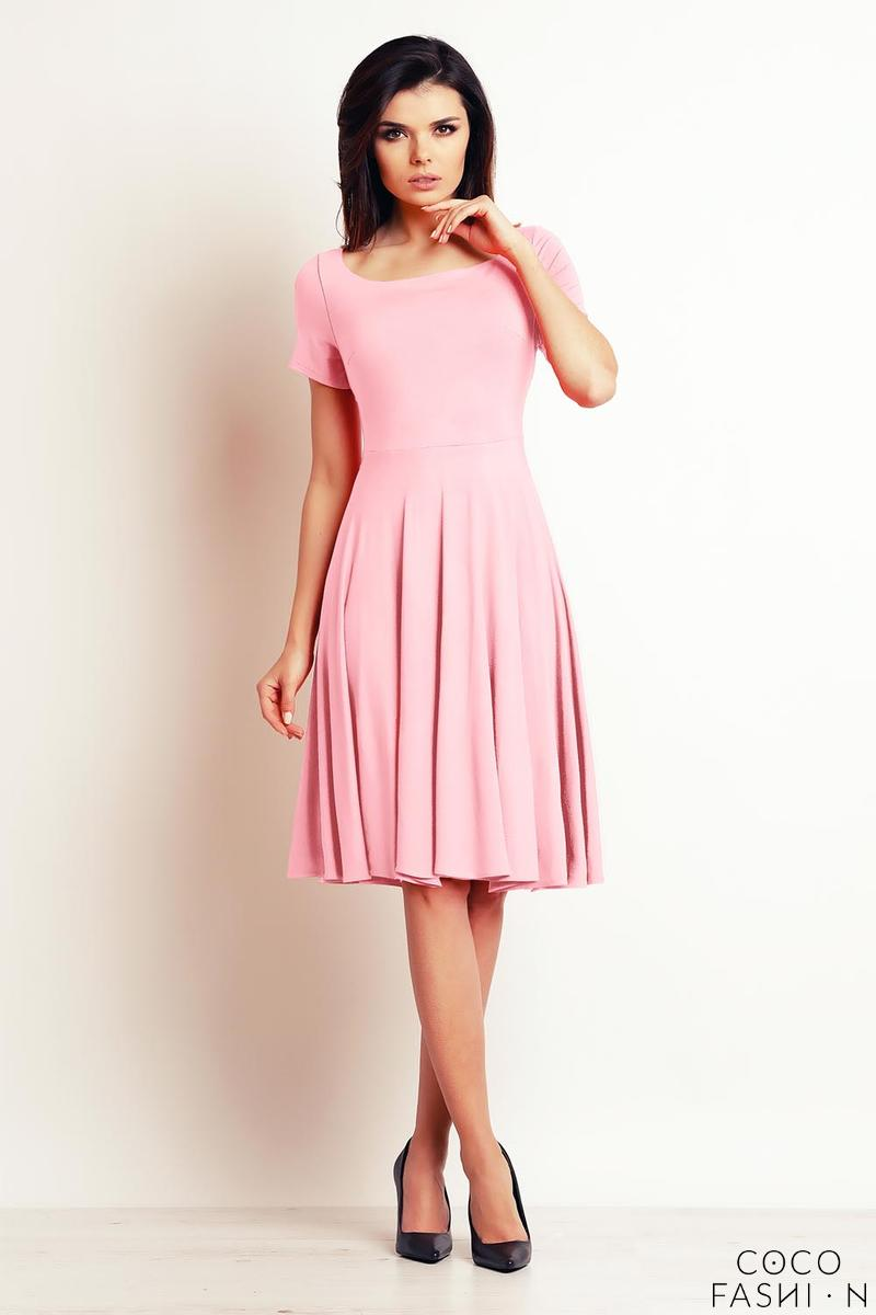 powder-pink-light-pleats-midi-dress