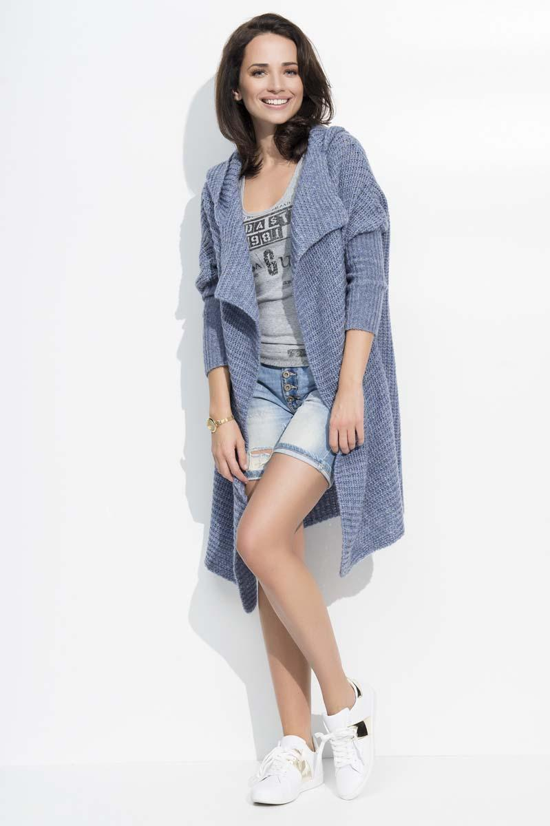jeans-blue-long-hooded-cardigan
