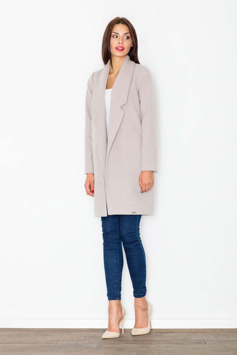 Beige Classic Short Coat