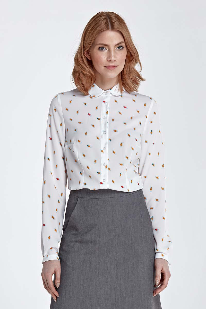 leafs-pattern-long-sleeved-shirt-with-round-collar