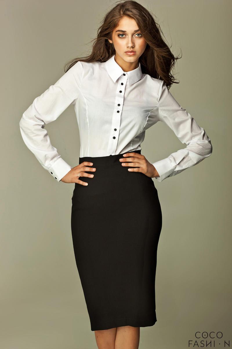 black-tea-length-pencil-skirt