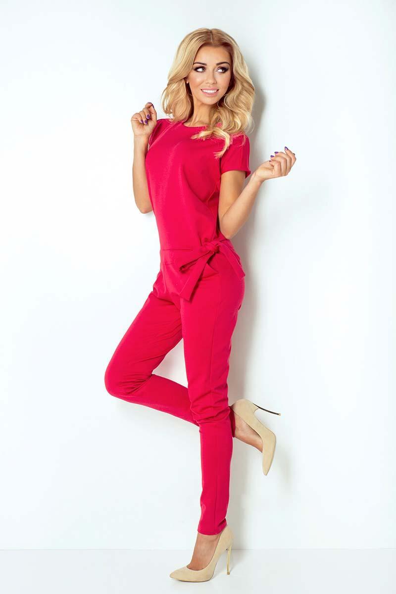 raspberry-pink-open-back-elegant-ladies-jumpsuit
