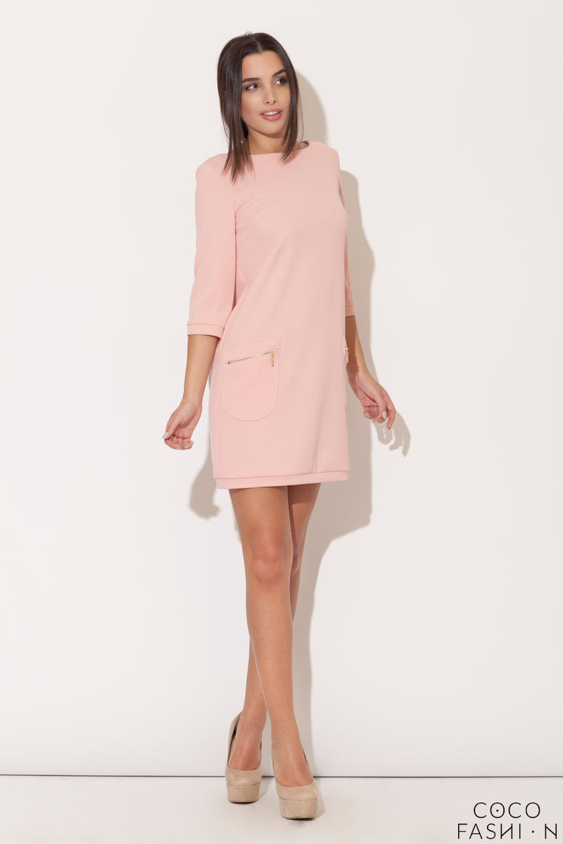 Pink Modernize Kelly Inspired Mini Dress