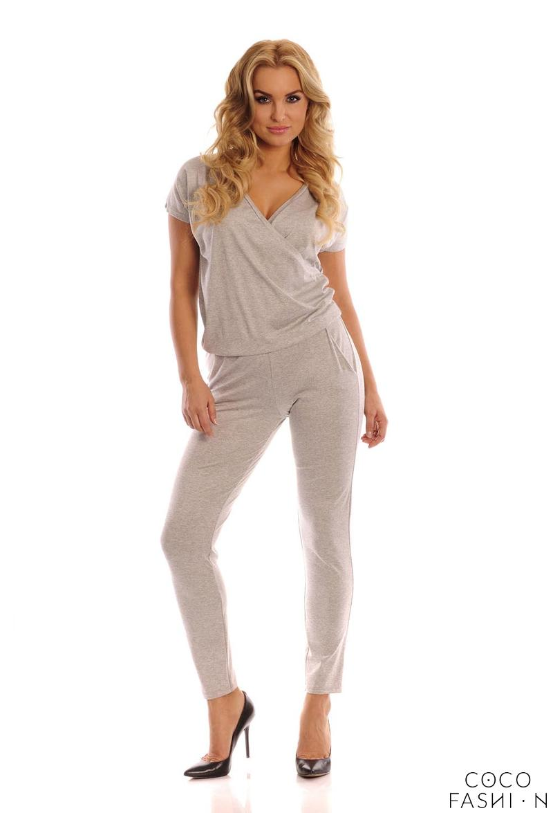 grey-deep-v-neckline-jumpsuit