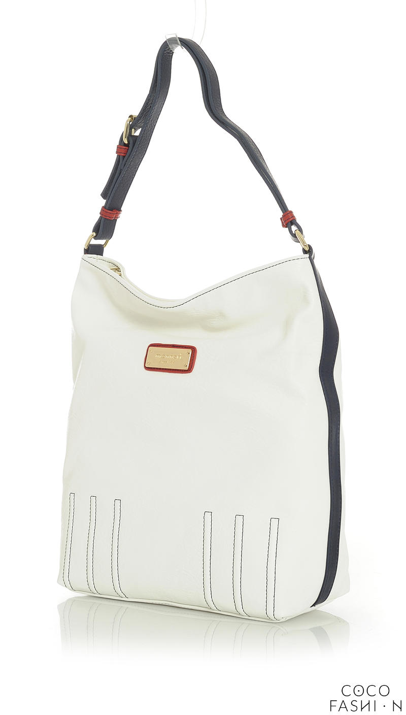 White Casual Office/Street Style Ladies Hand/Shoulder Bag