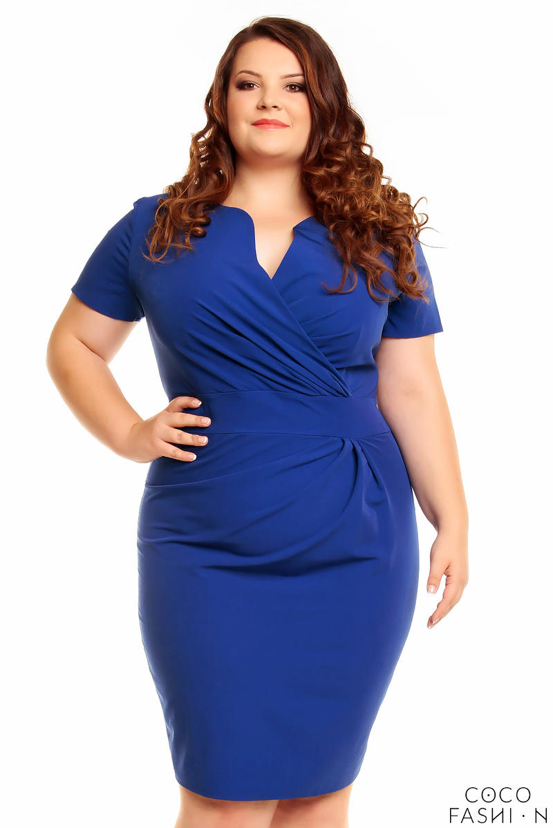 blue-wrap-around-dress-plus-size