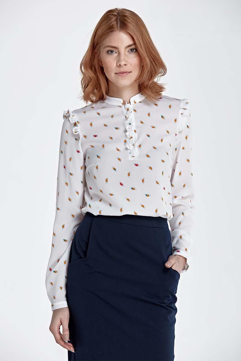 leafs-pattern-shirt-with-frills