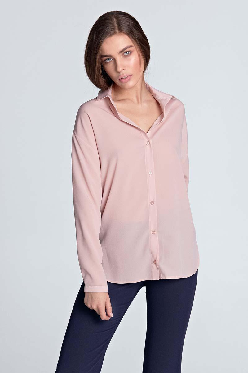 Pink Long Sleeved Shirt
