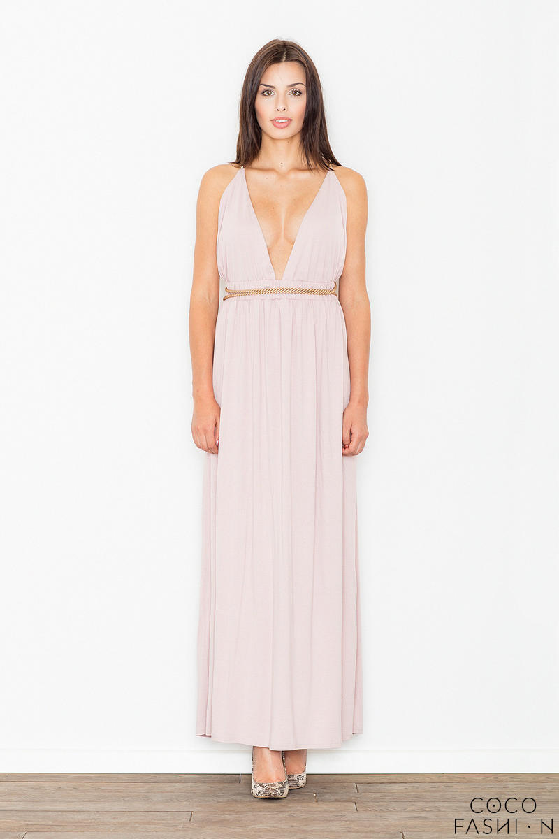 pink-maxi-long-greek-style-deep-neckline-dress