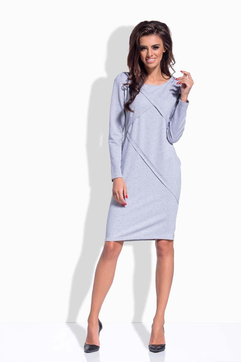Light Grey Classic Casual Dress
