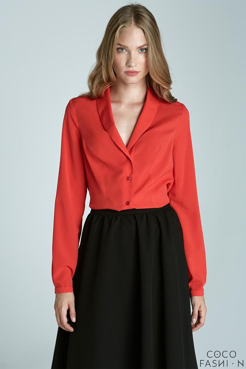 Orange Chic&Stylish Soft Office Shirt