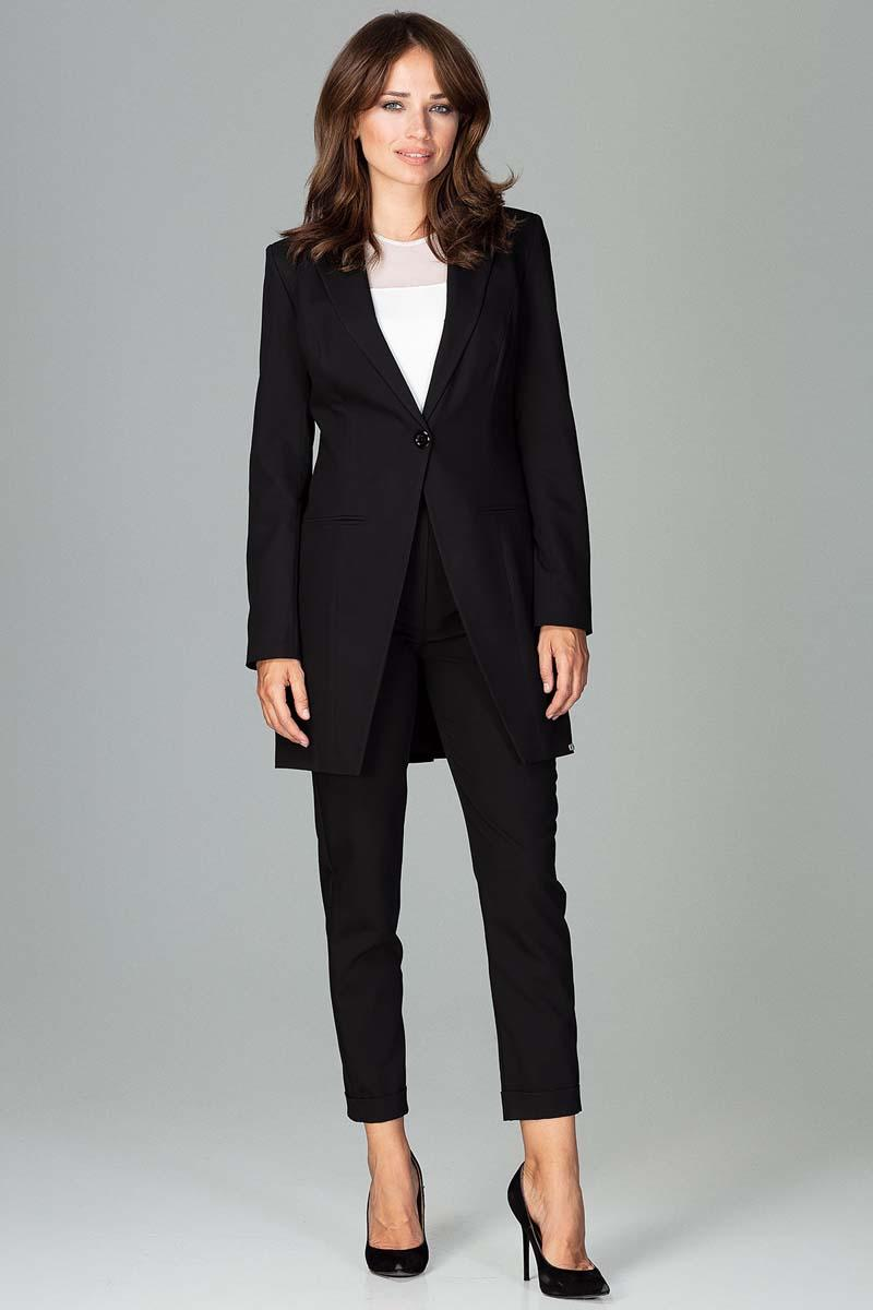 Black Long Elegant Blazer