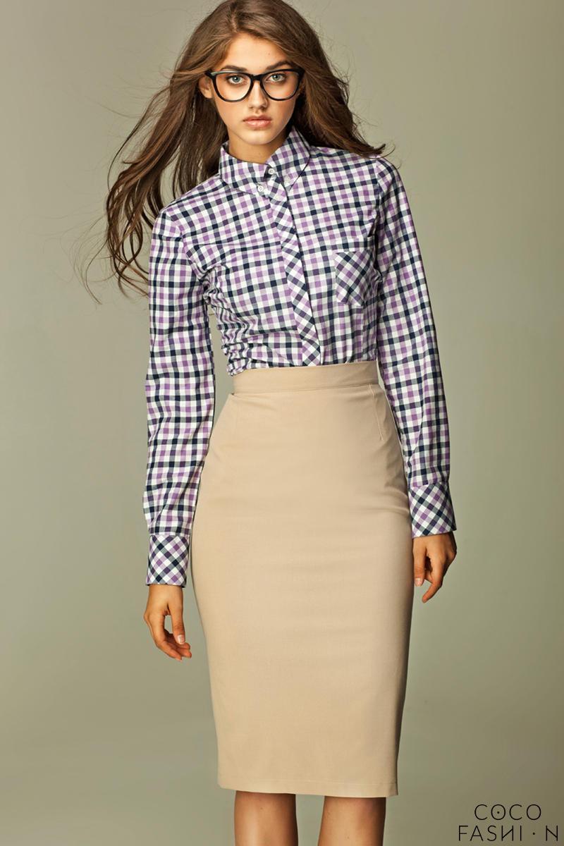 beige-tea-length-pencil-skirt