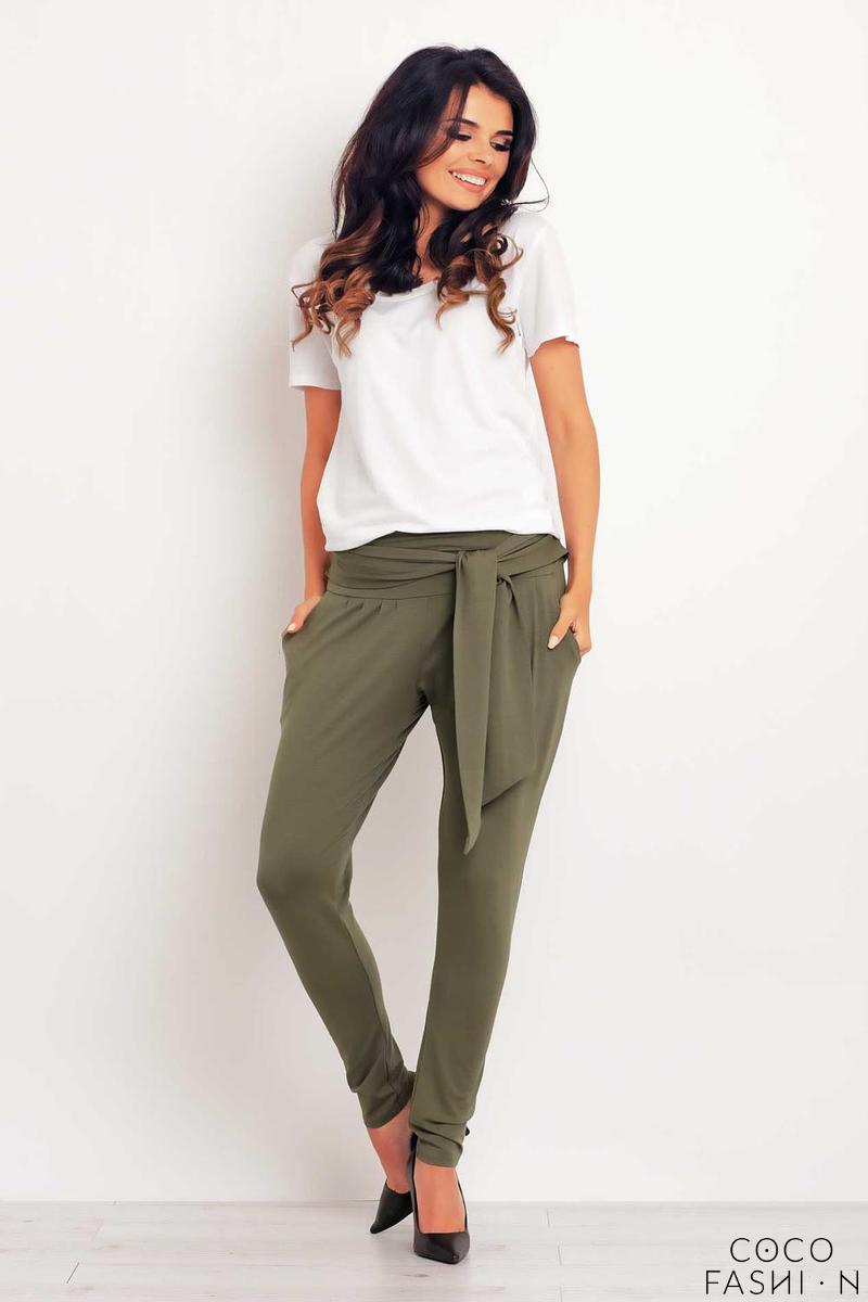olive-green-tapered-legs-jogger-belted-pants