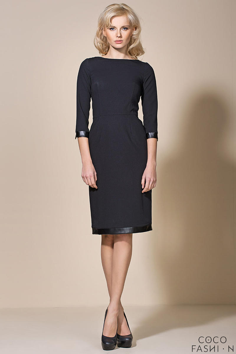 black-corporate-look-chic-dress