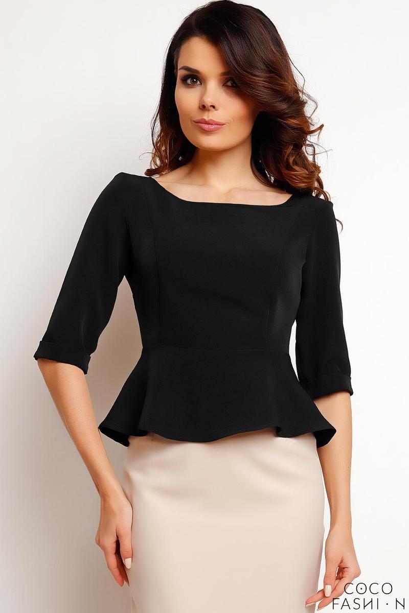 black-elegant-peplum-blouse