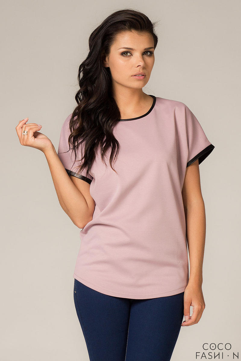 Pink Modern Street Style Cooler Blouse
