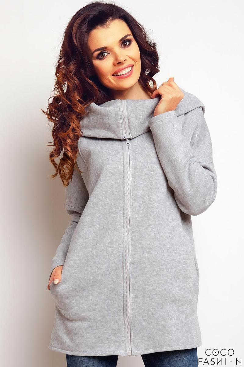 grey-zip-closure-long-hoodie