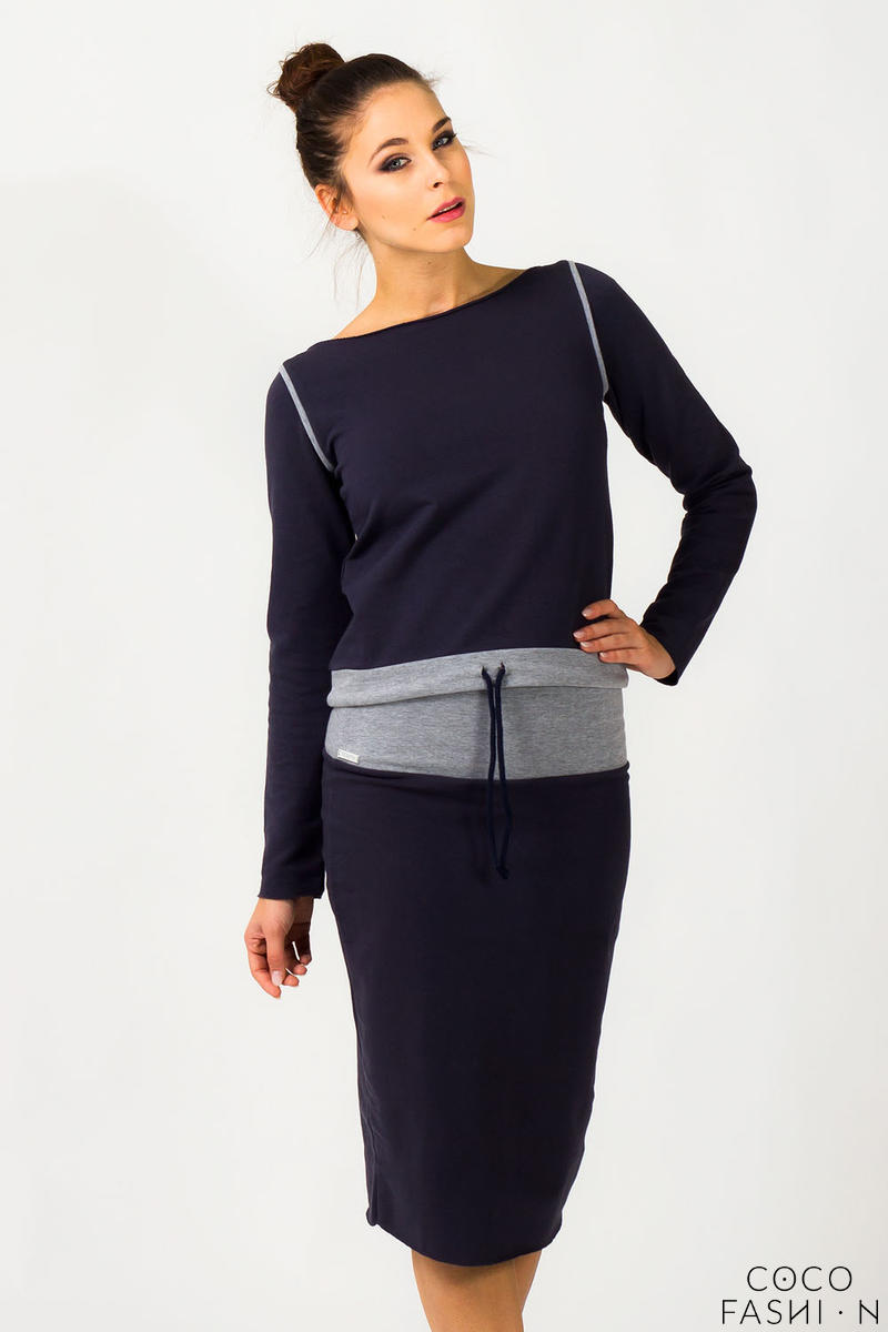 navy-blue-fitted-sport-style-skirt