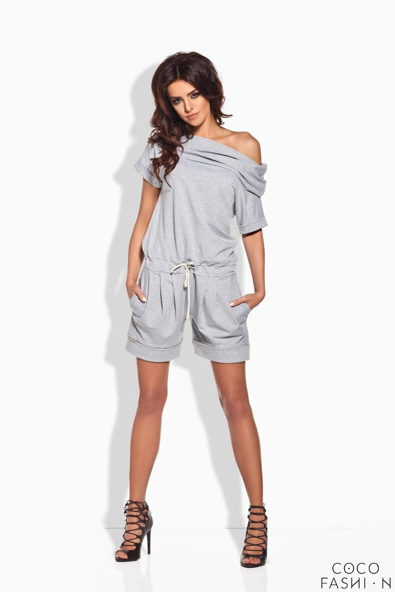 grey-short-ladies-jumpsuit