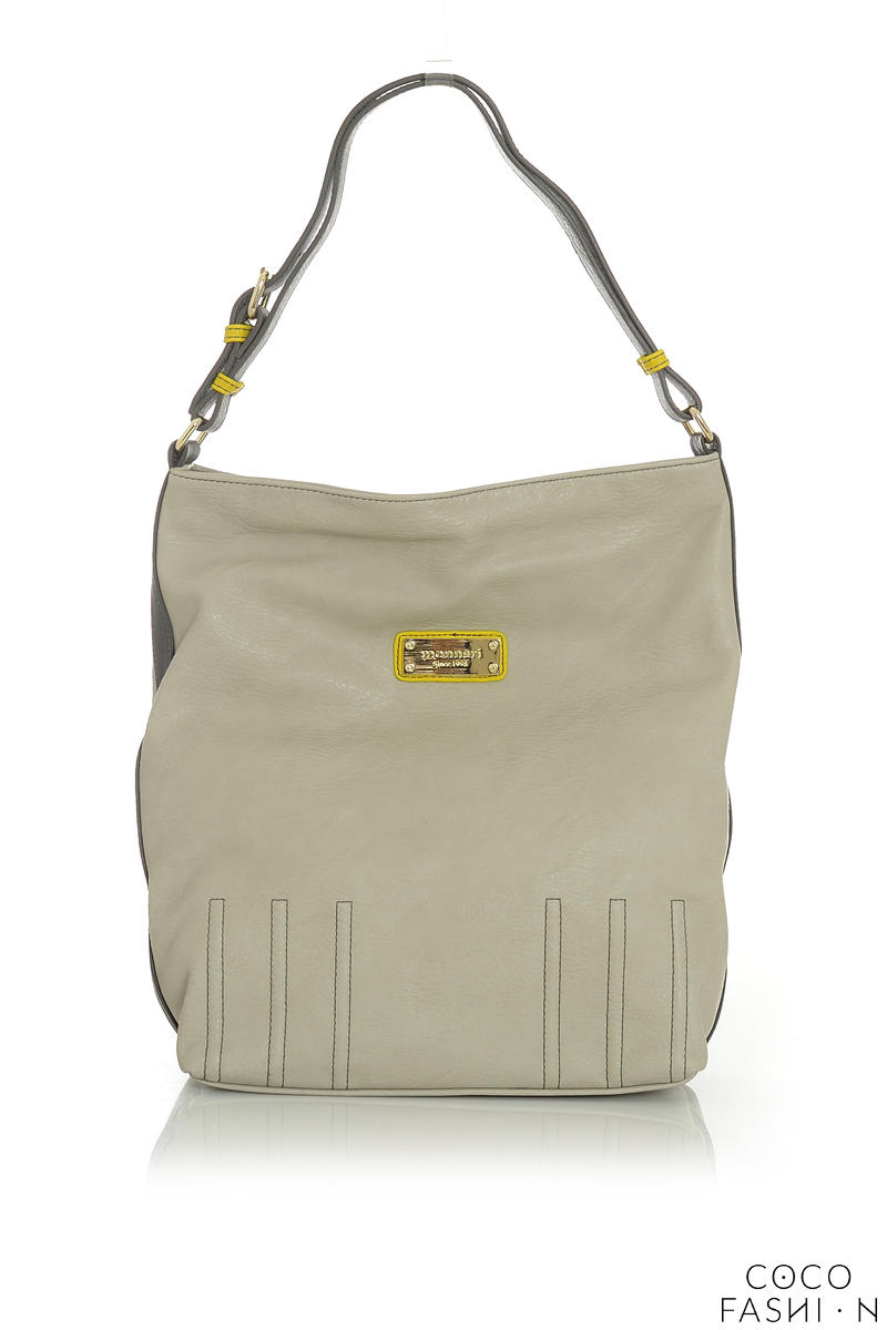 Beige Casual Office/Street Style Ladies Hand/Shoulder Bag от cocofashion