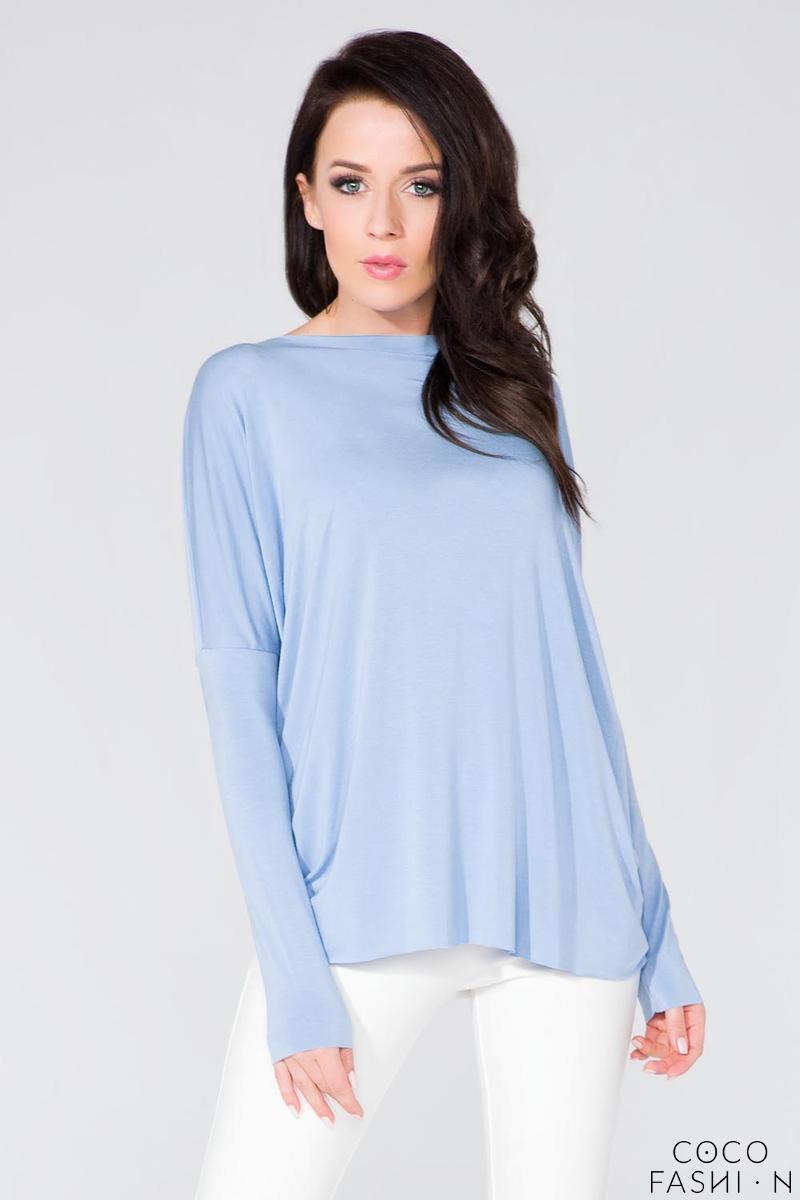 light-blue-loose-deep-back-cut-ot-blouse