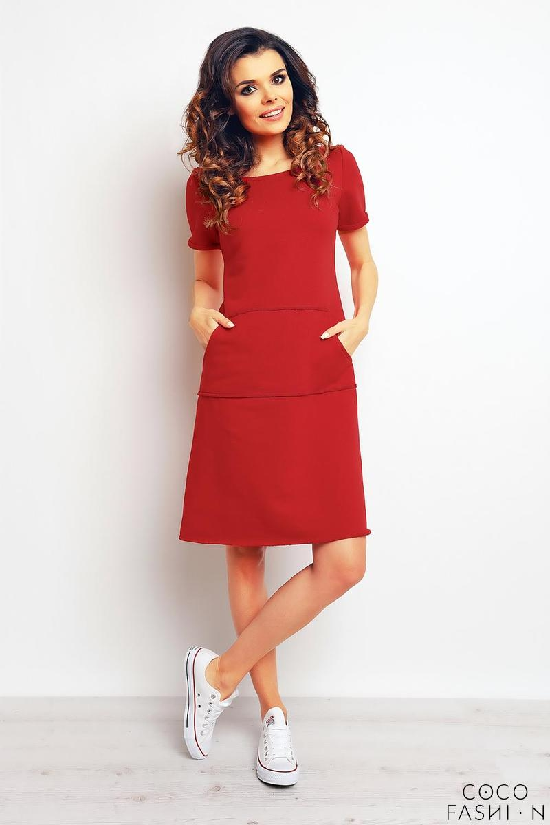 red-sport-style-dress-with-pockets