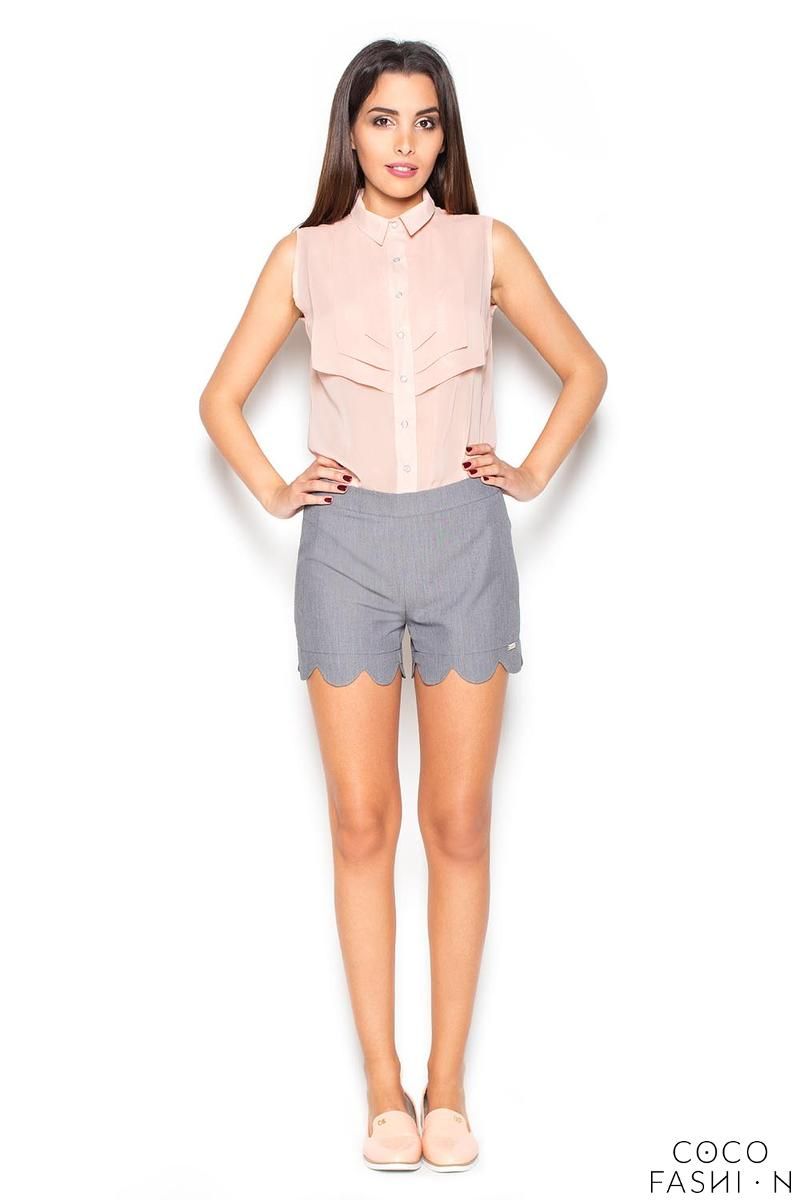 grey-hight-waist-decorative-cut-out-legs-shorts