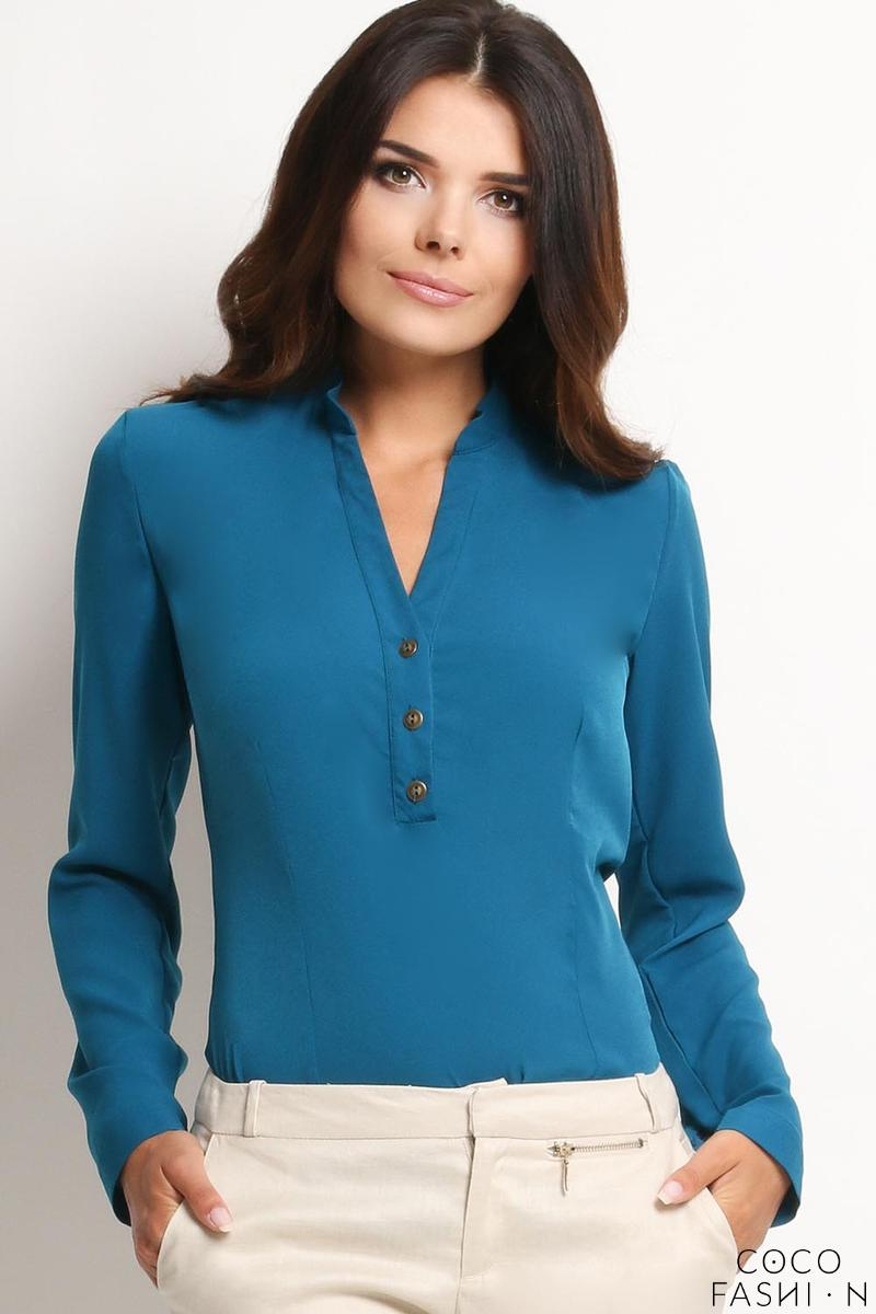 blue-elegant-office-style-shirt-with-buttons