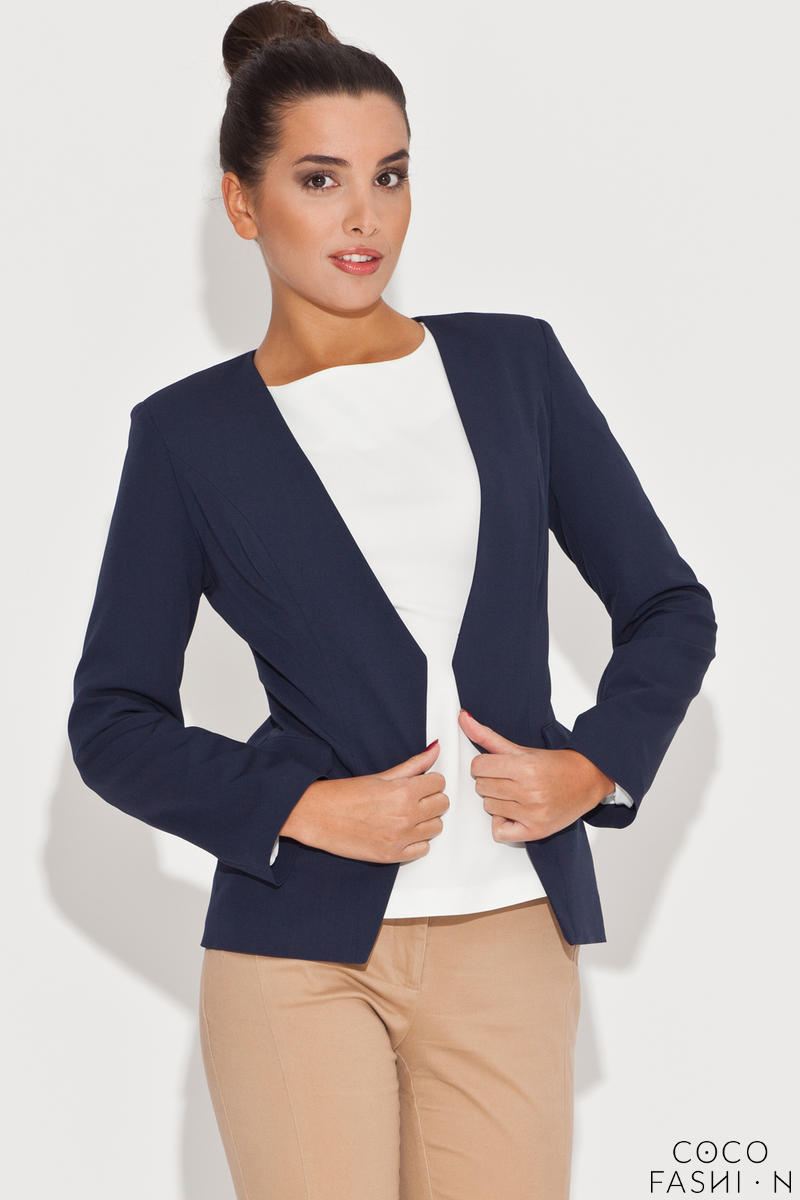 laser-cut-front-open-navy-blue-blazer