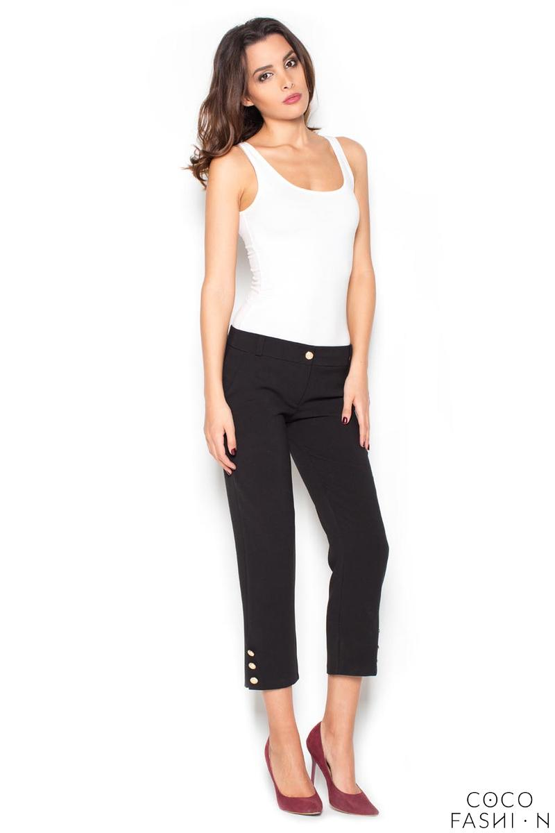 black-78-simple-pencil-pants-with-glod-buttons