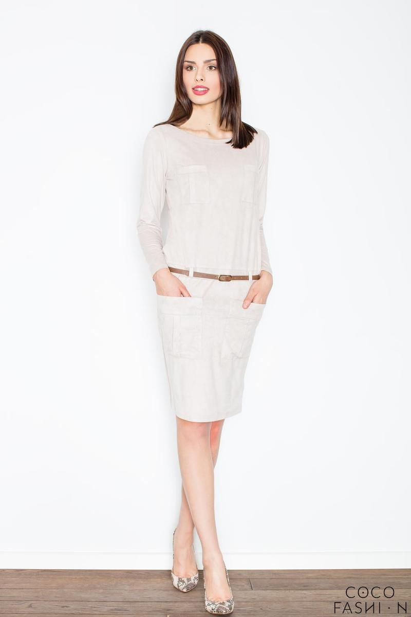 beige-office-style-dress-with-pockets