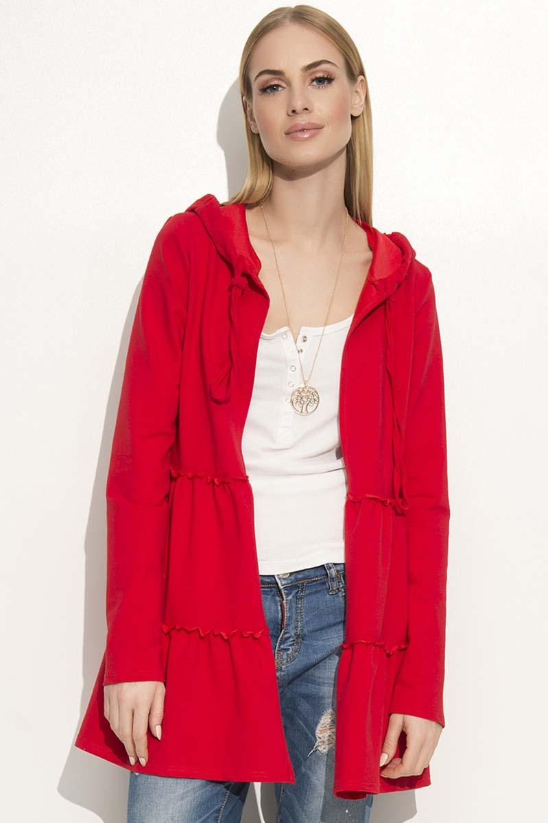 red-comfy-jacket-with-frills-hood