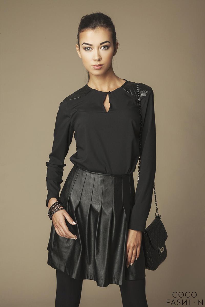 keyhole-neckline-black-shirt-with-leather-lapels
