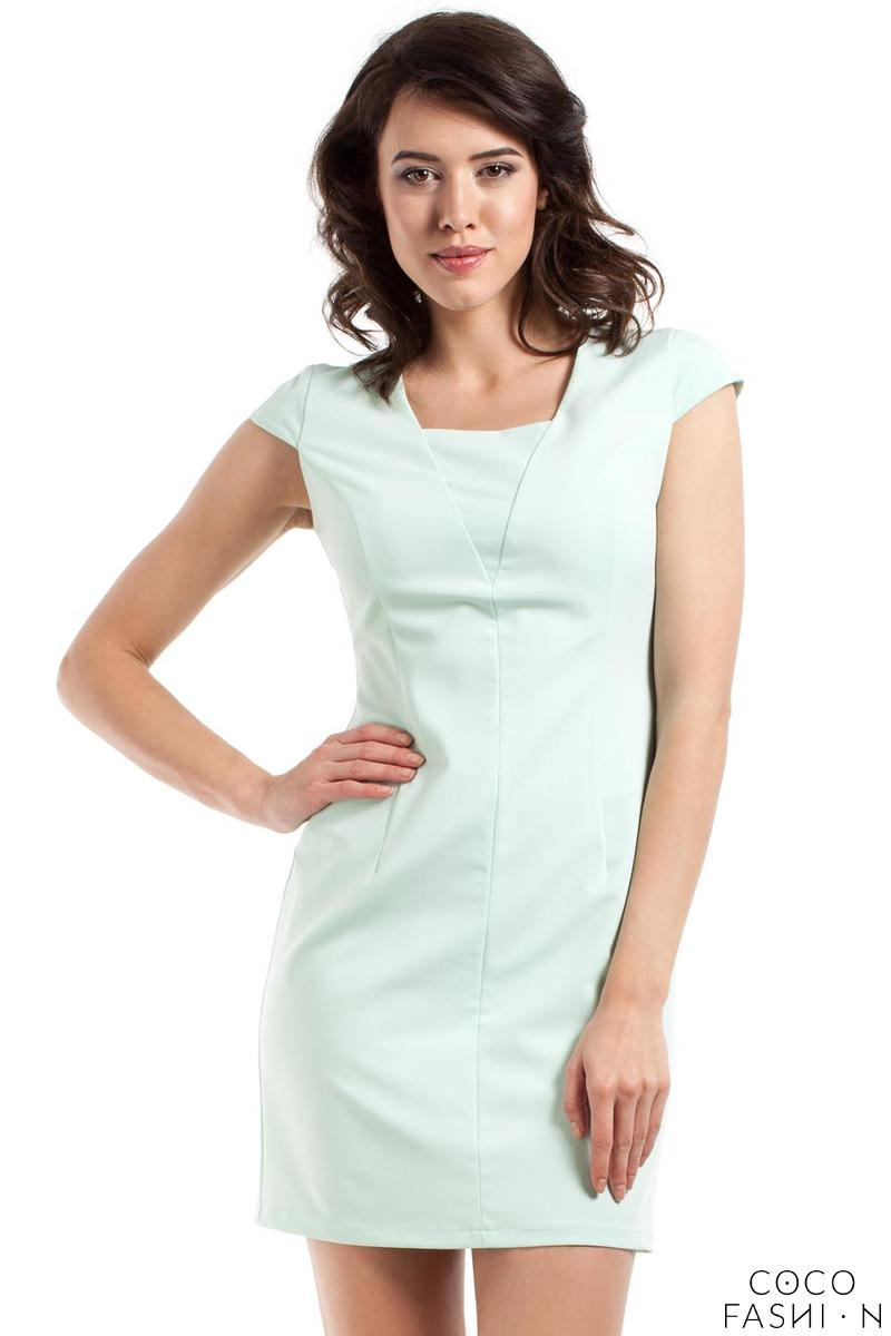 Mint Super Slim Fit Mini Dress