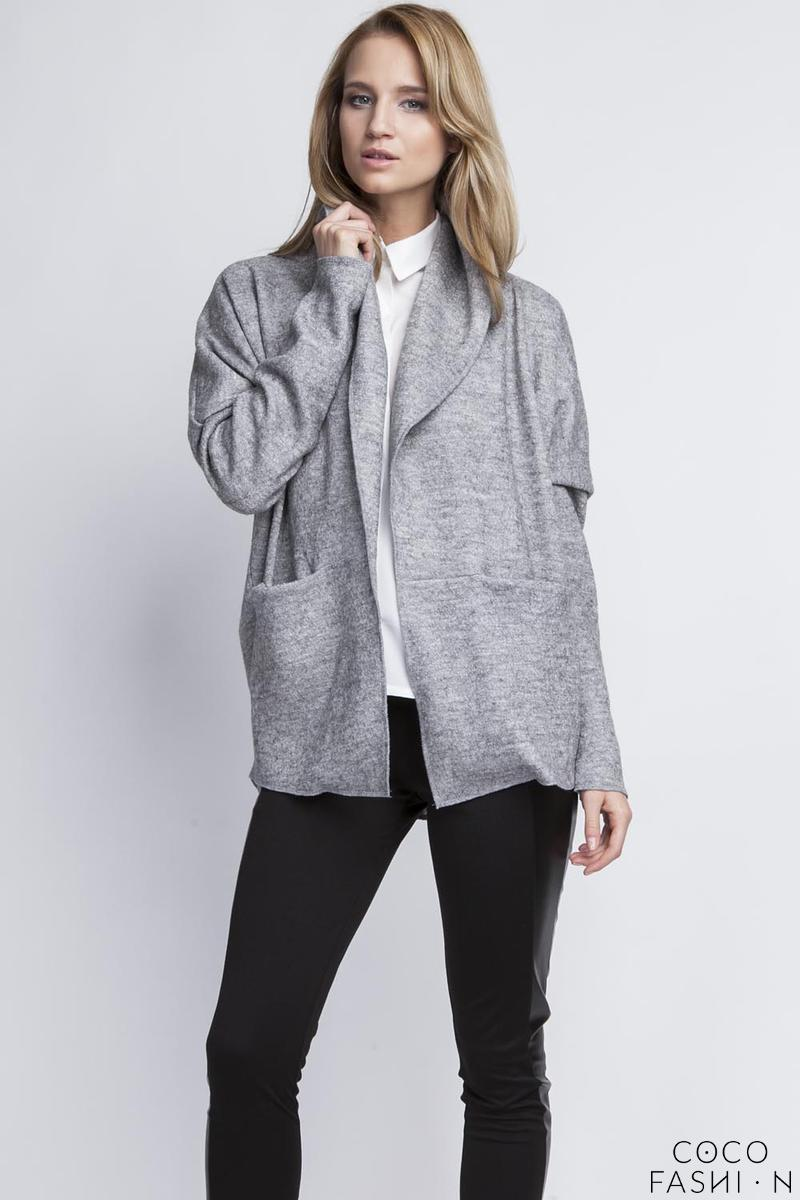 grey-elegant-oversized-office-style-cardigan
