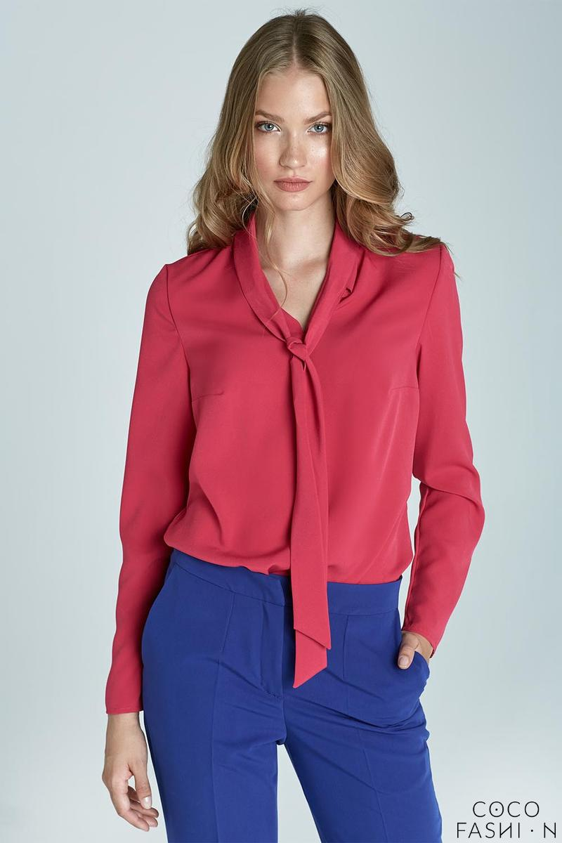 fuchsia-office-shirt-with-tie